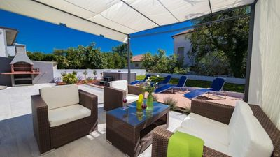 Photo for Apartments Relax, Olive Apartment 400 m to the beach, best choice for families