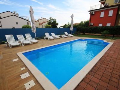 Photo for Holiday apartment with outdoor swimming pool and barbecue
