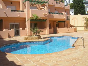 BURRIANA BEACH APARTMENT WITH LARGE TERRACE OF 50 METERS AND SUN INSURED