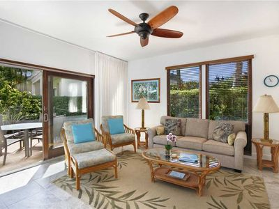 Poipu Vacation Rental Spacious Two bedrooms Ground Floor Condo *Kahala 911*