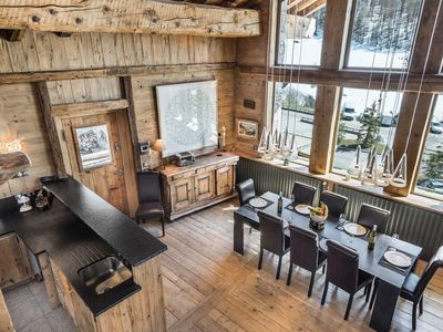 Photo for Superb chalet in Fornet, 10 meters from the slopes and lifts