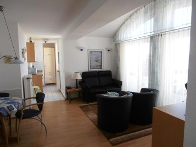 Photo for Duhner dune apartment 21, no smoking, wifi, lift, roof terrace, close to the beach