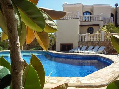 Photo for Private 4 bed magnificent luxury villa with superb sea and mountain views