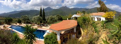 Photo for Private villa; Gaucin; Amazing views, private pool; great for families/walkers