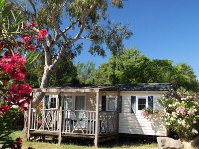 Photo for Camping Domaine Du Golfe St Tropez *** - Mobil Home Duo 2 Rooms 2 People