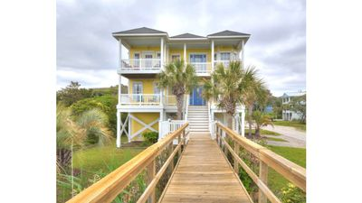 Photo for Extremely Private,Beautifully Decorated,Oceanfront Home-Walk to Stores-Sleeps12