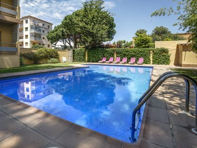 Photo for S'Agaró center with pool, parking and wifi!