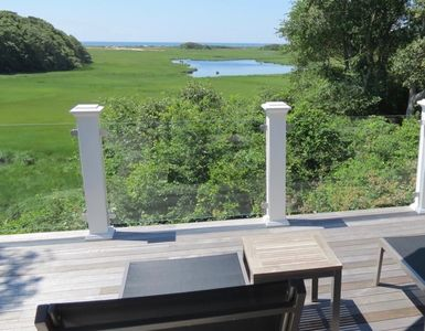 Photo for Brand new custom built beauty in South Chatham w/water views (linens included)