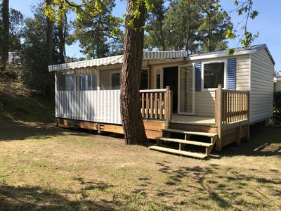 Photo for MOBIL-HOME comfortable for 2 to 6 people, Domaine de Bonne Anse