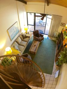 Photo for Beautiful Top floor 2 bedroom 2 bath with large lanai and designer furnishings