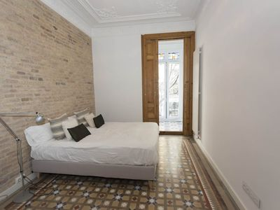 Photo for Spacious apartment with two double bedrooms next to La Pedrera in Barcelona
