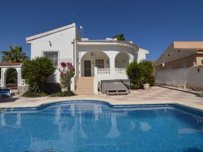 Photo for Detached villa with private open air swimming pool.