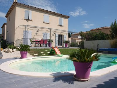 Photo for House with garden and pool in the heart of the Alpilles in Mouriès