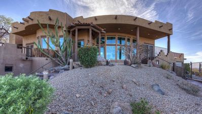Photo for Fabulous Southwestern Home with Amazing Views-Private Gym & Heated Pool (shared)