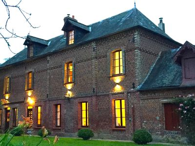 Photo for 19th Century French manoir, ideal place to enjoy with family and friends