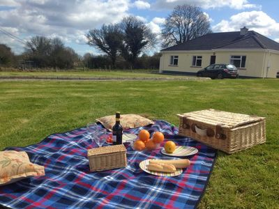 Photo for Quality self catering cottage with BBQ, open fire,C.H & WIFI situated in Coobawn