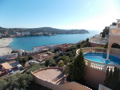 Photo for Stunning sea views over Santa Ponsa bay