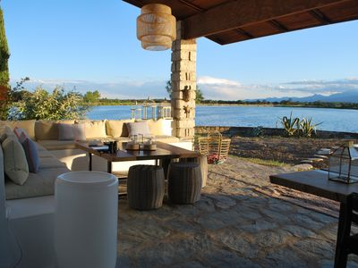 Photo for Lake House with Amazing Views and Salt Water Swimming Pool in Corsica
