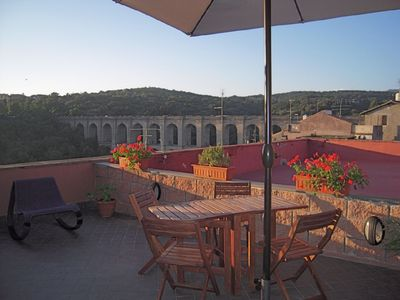 Photo for Penthouse in the center of Ariccia, near Rome with panoramic terrace