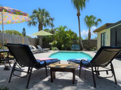 Photo for Newly Renovated 4 Bedroom Pool Home, Close to Downtown & Beaches w/Bikes&Kayaks