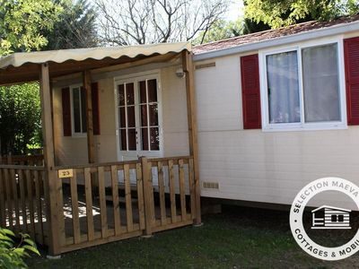Photo for Camping Les Amandiers **** - Maeva Camping - Mobile Home 3 Rooms 5 People