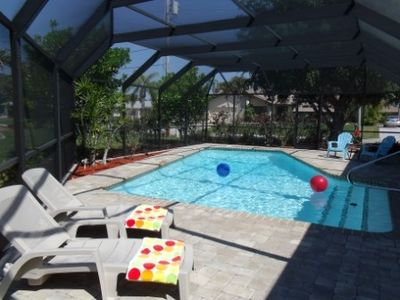 Photo for Fabulous, Clean, Spacious, Private Heated Pool, Fenced Yard, Fun in the Sun