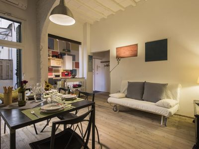 Photo for Marcella  apartment in Santa Croce with WiFi, integrated air conditioning & private terrace.