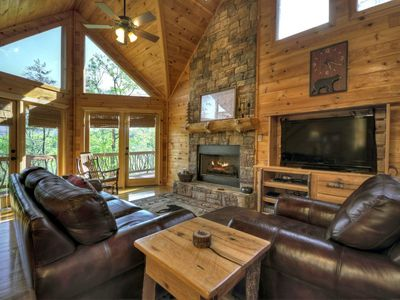 Photo for Find the perfect place to land in this stunning cabin, close to Blue Ridge`s favorite spots.