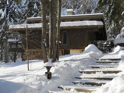 Photo for NEW TO VRBO: Contemporary Vermont Ski House with 4 bedrooms - Sleeps 8 in Beds