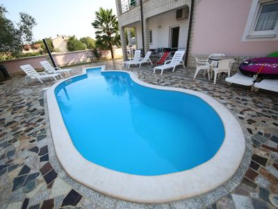 Photo for Villa Baldi Apartment 5, 1 km to the sea, perfect choice for families
