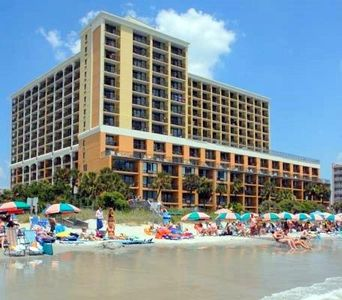 Photo for HUGE 1 BEDROOM DIRECT OCEANFRONT CONDO AT THE CARAVELLE RESORT! FREE WIFI!