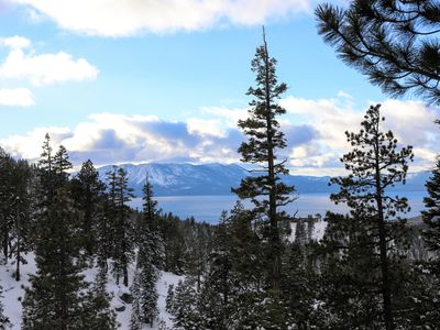 Photo for BREATHTAKING LAKE AND MOUNTAIN VIEWS! 2 PRIVATE BALCONIES! SKI OUT!