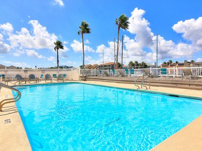 Photo for NEW LISTING! Lovely studio w/balcony, two pools, close to beach and shopping!