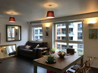 Photo for Riverside 1-bed flat Imperial Wharf