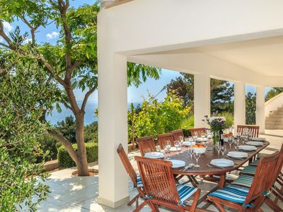 Photo for Beautiful Spacious Modern Villa With Stunning Sea Views And Pool
