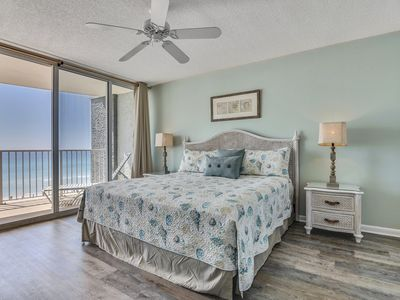 Photo for 1bd/1ba~FREE Activities~NEWLY renovated condo!! Gorgeous views of the Gulf!