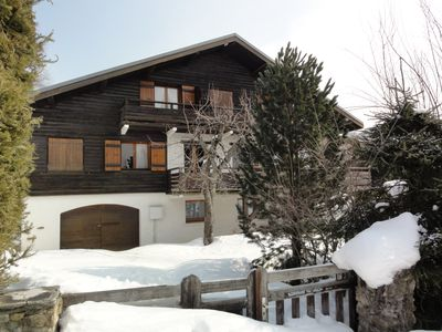Photo for FAMILY GRAND CHALET IN MEGEVE CENTRE