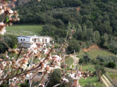 Our house, lain at the feet of Monte Tare', near the small city of Lanusei.