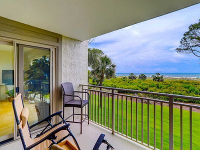 Photo for Oceanfront villa w/ open Atlantic views, balcony & shared saline pool & hot tubs
