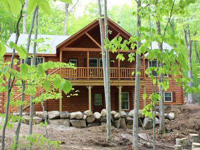 NEW home ~ 1 mile from downtown Old Forge w/ lake access thru HOA