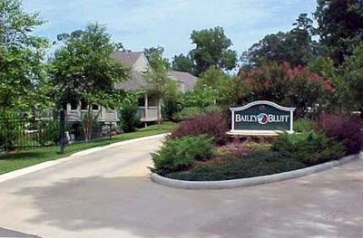 Gated Entry to Bailey Bluff Villas - 16 total villas in the development.