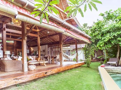 """Photo for Villa Mentawai Authenticity and calm in the heart of Umalas this """"corner of para"""