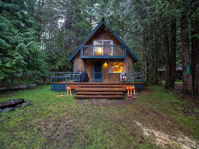 Photo for Mt. Baker Lodging Cabin #48 –WOOD STOVE, PETS OK, W/D, DISHWASHER, SLEEPS-5!