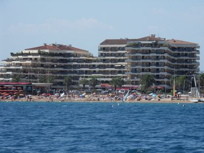 Photo for Frejus beach, apartment by the sea 4 people