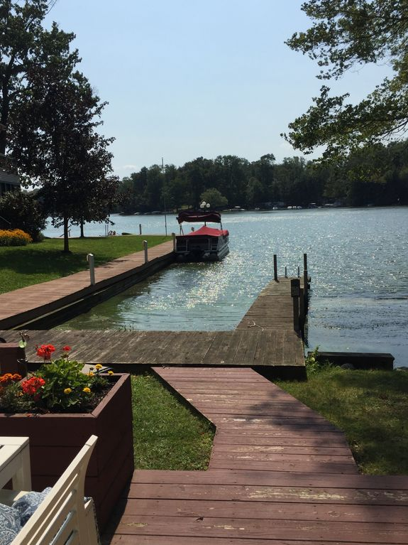 Lakefront With Private Dock Vrbo