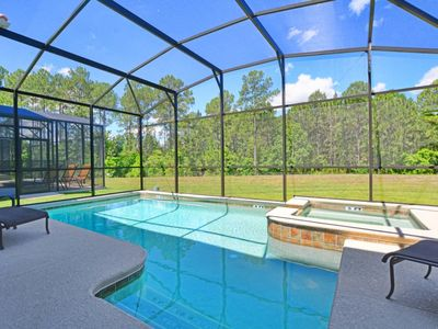 Photo for GAMEROOM, CONSERVATION VIEW, JACUZZI, 2 MASTER SUITES, ABSOLUTELY BEAUTIFUL !!