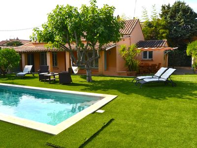 Photo for Villa with pool center of Saint Tropez.