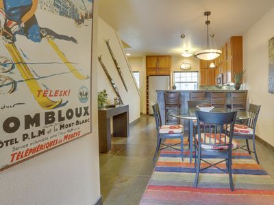 Photo for NEW LISTING! Modern, updated condo w/shared pool/hot tub, easy access to skiing