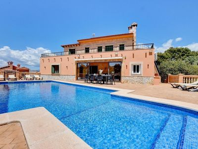 Photo for Holiday house Cala Blava for 8 persons with 4 bedrooms - Holiday house
