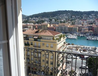 Photo for Loft panoramic view Sea and Port close to the Old Town of Nice